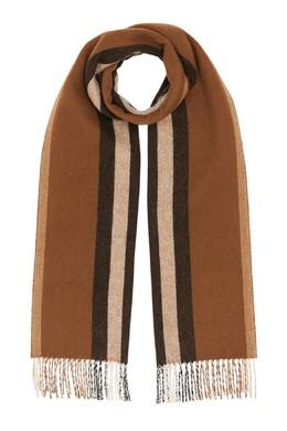 Двухсторонний шарф из кашемира Burberry 10188556