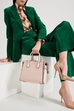 Двухцветная сумка Mercer MICHAEL Michael Kors 984189191