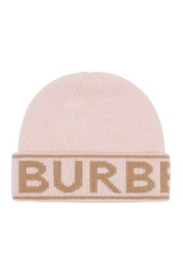Розовая шапка с надписью Burberry 10188700