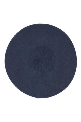 Синий берет с логотипом Burberry 10189168