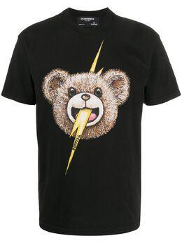 Domrebel футболка с принтом BOLTFACEBOXTBLACK156802