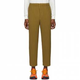 Homme Plisse Issey Miyake Brown Pleated Trousers HP06JF112