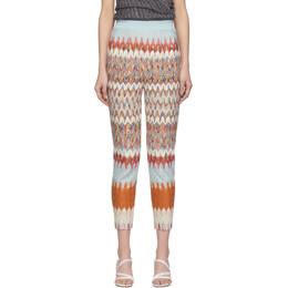 Missoni Multicolor Knit Chevron Trousers MDI00181 BR007T