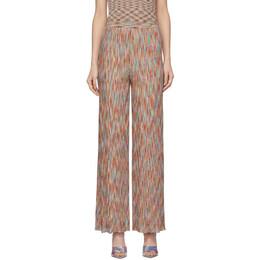 Missoni Multicolor Flared Stripe Lounge Pants MDI00130 BK00IK