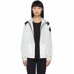 Moncler White Anthracite Jacket 1A733 00 C0438