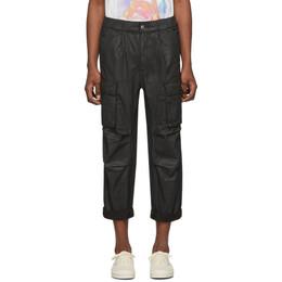 Ksubi Black Auxillary Cargo Pants 5000004621
