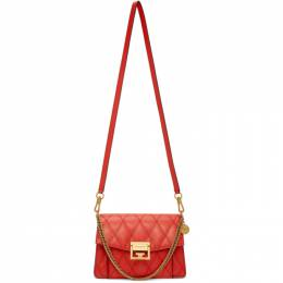 Givenchy Red Small GV3 Bag BB501CB08Z