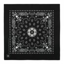 Mastermind World Two-Pack Black and Red Skull Bandanas MW20S04-SC001