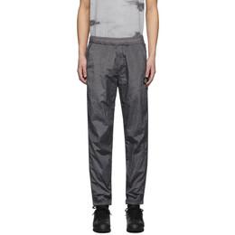 Stone Island Grey Nylon Track Pants 721565236