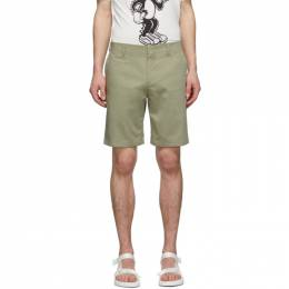 Paul Smith Green Cotton Shorts M1R-108S-A01050