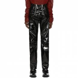 Gmbh Black Vinyl Trousers THOR