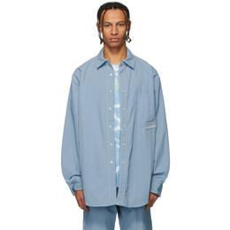 Alexander Wang Blue Summer Shirt 6WC1202019
