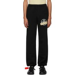 Off-White Black Tape Arrows Lounge Pants OMCH020R20E300021048