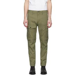 Levi's Green Lo-Ball Zip-Off Cargo Pants 85689-0001