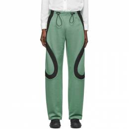 Kiko Kostadinov Green Lasso Knee Lounge Pants KKSS20T07