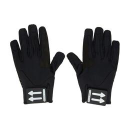 Off-White Black Active Gloves OMNE018R20G950011000