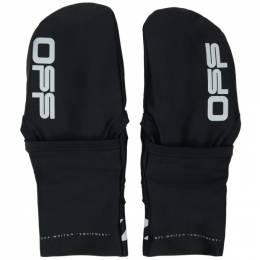 Off-White Black Touchscreen Gloves OMNE019R20G950041006