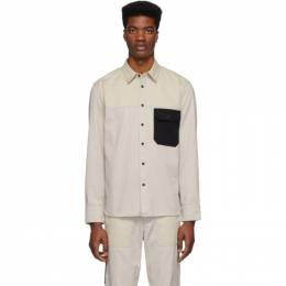 Rag&Bone Off-White Franklin Chore Shirt MBW20SA0144IML