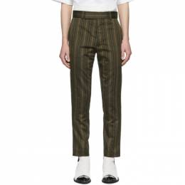 Haider Ackermann Green Skinny Classic Trousers 203-3400-116-035