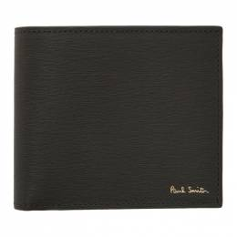 Paul Smith Grey Leather Billfold Wallet M1A-4832-ASTRGS