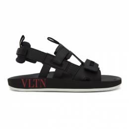 Valentino Black Valentino Garavani VLTN Sandals TY2S0D22BDV