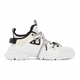 MCQ by Alexander McQueen White ORBYT Runner Sneakers 599097R2678