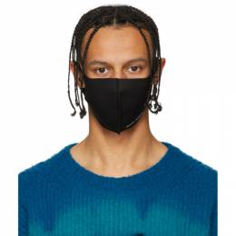 Palm Angels Black Anti-Pollution Mask PMRG001R204800011001