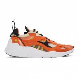 MCQ by Alexander McQueen Orange Daku 2.0 Sneakers 598104R2616