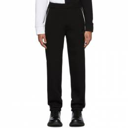 Neil Barrett Black Knit Lounge Pants pbjp 179b n503