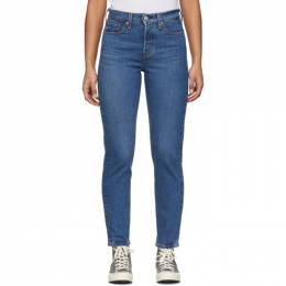 Levi's Blue Wedgie Icon Fit Jeans 22861-0058