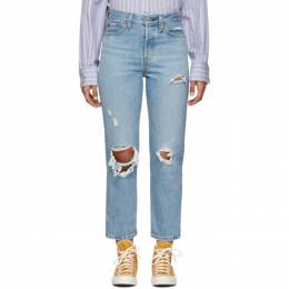Levi's BLue Wedgie Straight Jeans 34964-0013