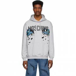 Moschino Grey Monster Hands Hoodie 1703 0227