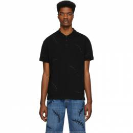 Moschino Black Scars Polo 1208 0242