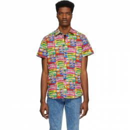 Moschino Multicolor Chewin Gum Shirt 0211 0261