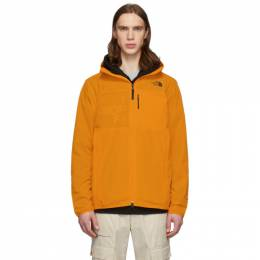 The North Face Orange North Dome 2 Wind Jacket NF0A4AMH