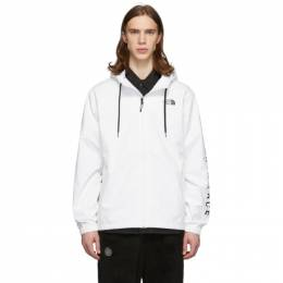 The North Face White Cultivation Rain Jacket NF0A3MIH