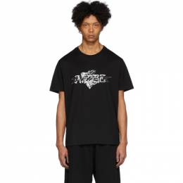 Givenchy Black Dark Amore Diamond T-Shirt BM70WX3002