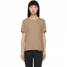 Fendi Beige Forever Fendi T-Shirt FS7254 A5XW