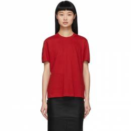 Fendi Red Forever Fendi T-Shirt FS7254 A5XW