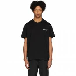 Givenchy Black Tape Details T-Shirt BM70WJ3002