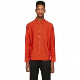 Ami Alexandre Mattiussi Red Summer Fit Shirt E20HC139.422