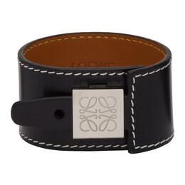 Loewe Black Wrap Bracelet 110.10.024