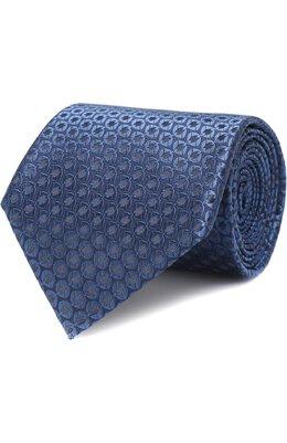 Шелковый галстук с узором Ermenegildo Zegna Z4F00/1US