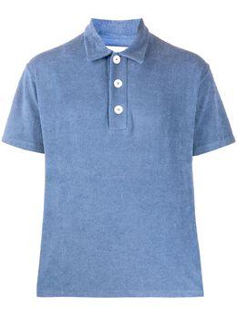 Jil Sander terry polo shirt JPUQ707503