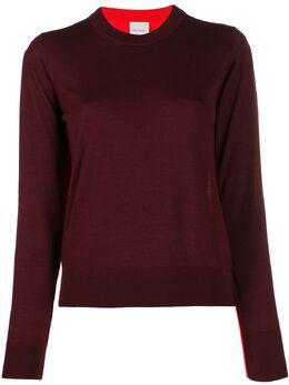 Paul Smith свитер с контрастными вставками W1R734KA10438