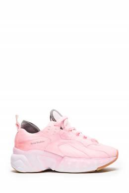 Розовые кроссовки Manhattan Acne Studios 876186710