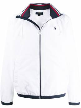 Polo Ralph Lauren logo-embroidered hooded jacket 710777217002