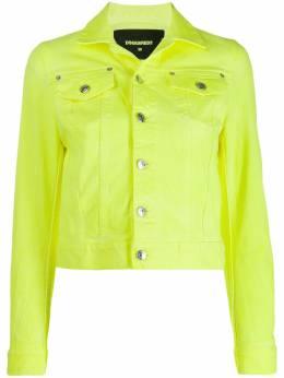 Dsquared2 укороченная джинсовая куртка S72AM0808S39781