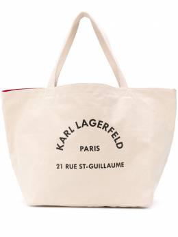 Karl Lagerfeld сумка-тоут Rue Saint Guillaume 20KW201W3138