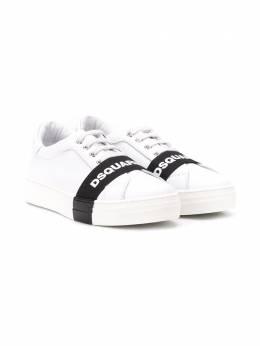 Dsquared2 Kids logo stripe sneakers 63524